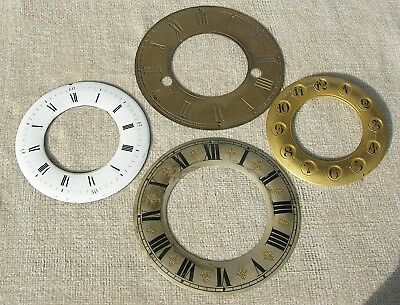Four Mantel Clock Chapter Rings