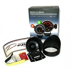 Depo Racing Oil Temperature Gauge 52MM With pod and fittings