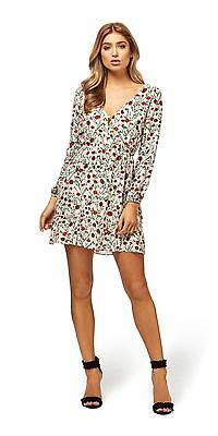 Kookai Carnation Long Sleeve Dress  Sz 40  Free Postage  (G18)