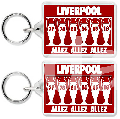 Liverpool Champions League Winners Keyring Anfield Klopp Secret Santa
