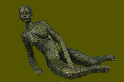 Handcrafted Rare Female Abstract Modern Art Figural by Salvador Dali Figurine