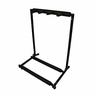 NEW! 3 Way Multi Guitar Rack Holder Stand Electric Acoustic Bass