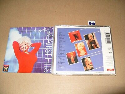 Dolly Parton Greatest Hits cd 1983 cd + Inlays are Excellent condition
