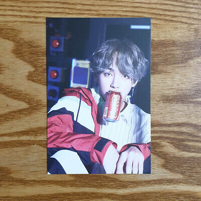 V BTS Armypedia Her Official Postcard United in Seoul Taehyung Kpop Genuine