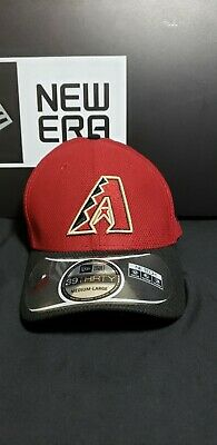 best loved 29758 6f484 Arizona DiamondBacks MLB New Era 39Thirty Flex Fit Hat Cap Size M L