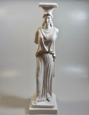 Ancient Greek Karyatis / Caryatid (HANDMADE Statue /  38cm -14.96 inches