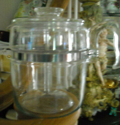 VINTAGE PYREX 6 CUPSTOVE TOP COFFEE POT PERCOLATOR  COMPLETE, great condition