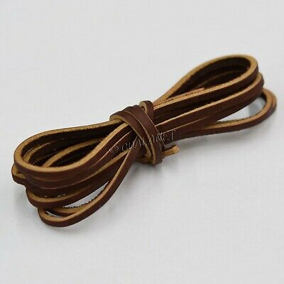 Waxed Round Shoe Laces Shoelace Bootlaces Leather Brogues Multi Color 27.6/'/' VGC