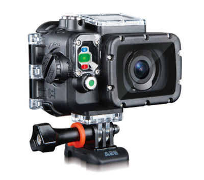 AEE S71 Ultra HD 4K Action Camera, WiFi, Touchscreen, Smartphone App Steuerung