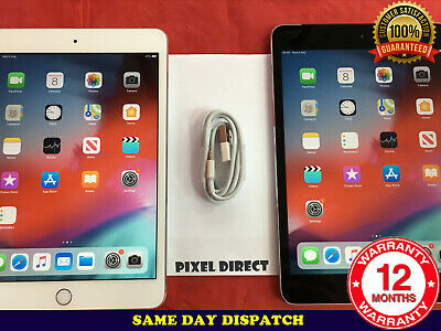 GRADE B Apple iPad mini 4 Cellular 4G 16GB 64GB 128GB Wi-Fi Silver Gold Grey