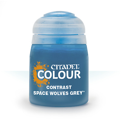 Space Wolves Grey Contrast Citadel Paint Warhammer 40K Age Sigmar