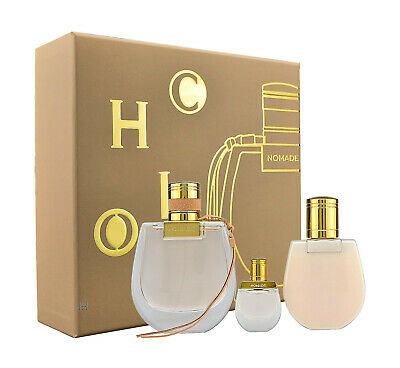 Chloe Nomade 75ml Eau de Parfum & 100ml Bodylotion & 5ml Mini EDP