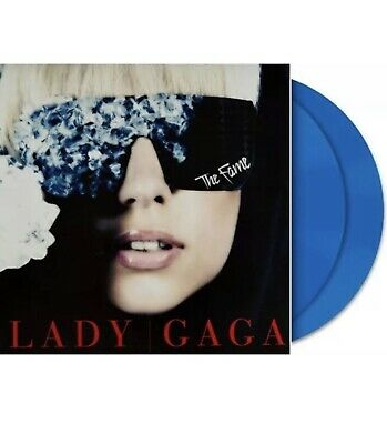 Lady Gaga The Fame Blue Vinyl Fnac Limited Edition New Rare Promo Star Is Born