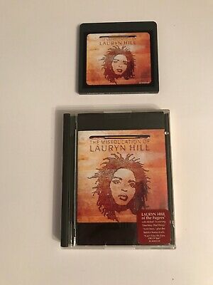 Rare Retro The Miseducation Of Lauryn Hill Mini Disc Misc Album Boxed Tested #