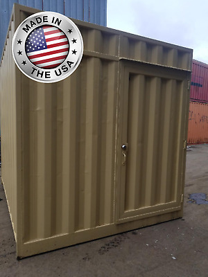 Introducing QBOX - Custom 10' Storage Container - 10' Shipping Container