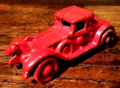 Antique A.C. Williams Cast Iron Toy ROADSTER IF-2867 Metal wheels 1920 RARE!