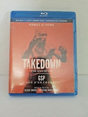 Takedown : The DNA of GSP (Bluray + Dvd) New & Sealed