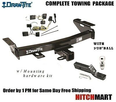 fits 2005-2008 uplander 2005-2007 terraza, relay trailer hitch package w 1