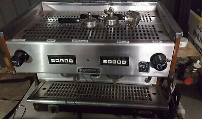 Bezzera 2 Group Coffee Machine Works Perfectly - NO RESERVE