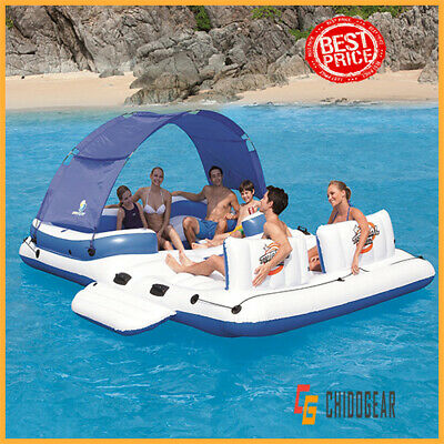 CoolerZ Tropical Breeze Inflatable Floating Island - US STOCK - FREE SHIPPING