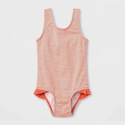 315d407a0 NEW TODDLER GIRL'S Cat & Jack Swimwear Purple & Pink One Piece ...