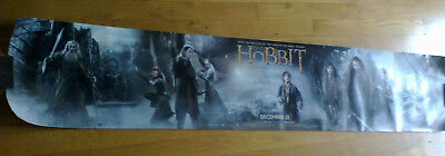 THE HOBBIT DESOLATION OF SMAUG 2013 Unique Movie Poster NEW 11x59 (panoramic)