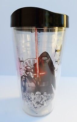 d3b871729b1 Star Wars Kylo Ren 16oz. Travel Tumbler Drinking Cup Double Insulated Brand  New