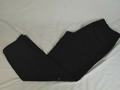 2653ee52ec Lululemon Mens Kung Fu Pant Gym Yoga Sweatpants Lounge Athletic Black Large  Tall