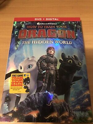 How To Train Your Dragon 3: Hidden World (DVD,2019) Brand New Includes Slipcover