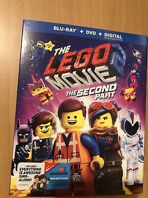 The Lego Movie 2 The Second Part(Bluray+DVD+Digital)Slipcover Ships Out Same Day
