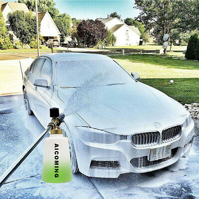 """2L Foam Cannon Snow Foam Lance with 1/4"""" Quick Connector for Pressure Washer Gun"""