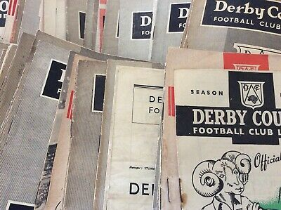 Derby County HOMES 1946/47 to 1959/60 (2)