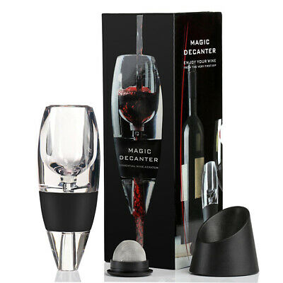 Magic Red Wine Decanter Aerator Pourer Filter Air Diffuser Aerating Spout