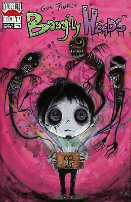 BOOGILY HEADS #1 FINK INCENTIVE VARIANT 2019 Devil's Due PreSale Sold Out