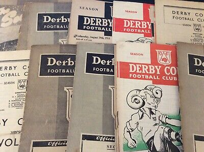 Derby County HOMES 1946/47 to 1959/60 (3)