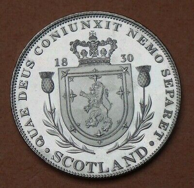 1830 William Iv Proof Pattern Scotland Crown Collection