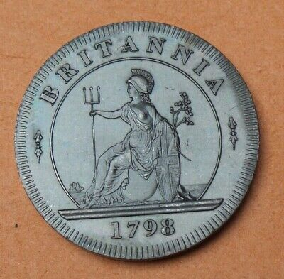 1798 George Iii Proof Pattern  Twopence Collection