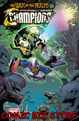 Champions #6 (2019) 1St Printing Jacinto Main Cover Bagged & Boarded Marvel Wr
