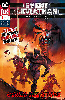 Event Leviathan #1 (Of 6) (2019) 1St Printing Alex Maleev Main Cover Dc Universe