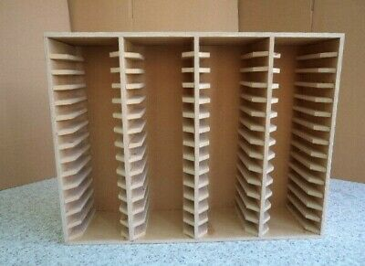 Hand Crafted Storage Unit For 56 new size Stampin Up ink pads