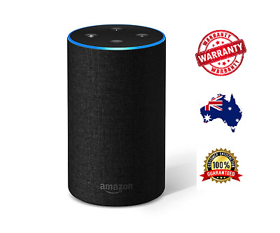 *BRAND NEW* Amazon Echo (2nd Generation) Charcoal Fabric Smart Speaker - Alexa