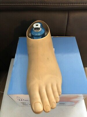 OTTO BOCK Single Axis Foot Beinprothesen Fuß Prosthetic Foot Size 25 Left 100 KG