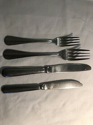 400 Pieces (circa) Olympia Cutlery Knives Forks Joblot Job Lot