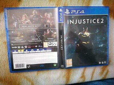 PS4 Injustice 2 FOR Sony PlayStation 4 VERY GOOD CONDITION