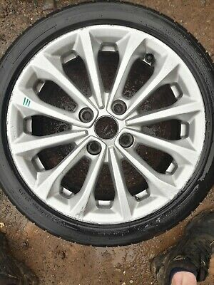 "Mk7 Mk8 Fiesta Zetec 16"" Alloy Wheel And Tyre Full Size Spare X1"