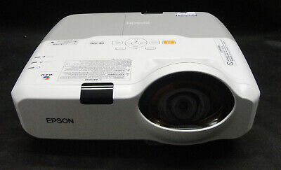 Epson EB-420 Short Throw HDMI/VGA/XGA Projector - Excellent Image - Lamp 1823hrs