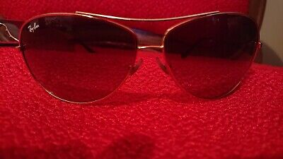 000993835 Ray Ban RB 3293 Sunglasses 001/13 63 13 Gold Brown Gradient Lenses