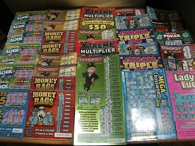 90~$MIXED$ CALIFORNIA LOTTERY Scratchers~Second Chance~Free Shipping!