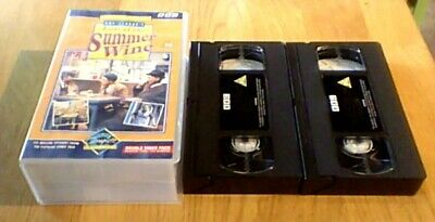 THE LAST OF THE SUMMER WINE Complete Series 1 BBC UK PAL VHS 2-Tape Set VIDEO