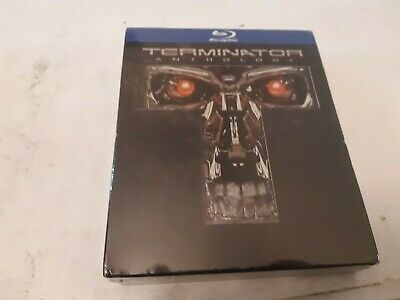 Terminator Anthology 5 disc box set(Blu-ray Disc) *new and sealed*